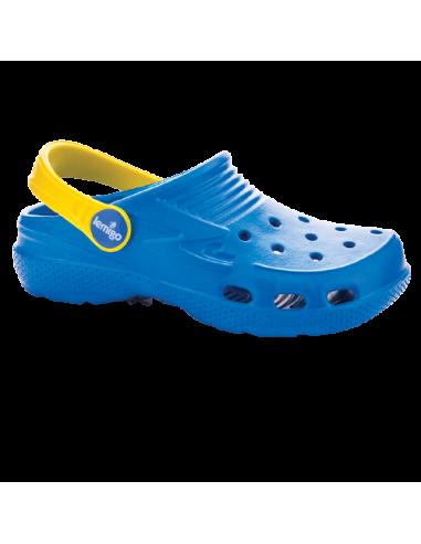 Klapki dziecięce Lemigoose niebieskie
