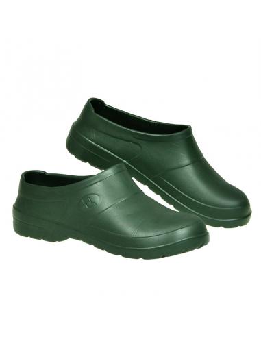 Klapki ogrodowe Clog EVA zielone